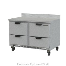 Beverage Air WTRD48AHC-4 Refrigerated Counter, Work Top