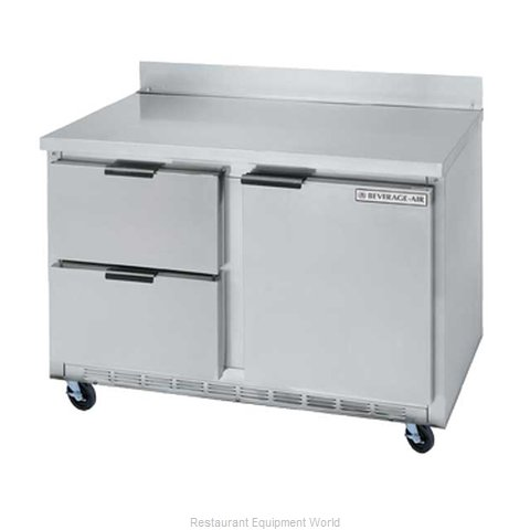 Beverage Air WTRD60A-2 Refrigerated Counter Work Top