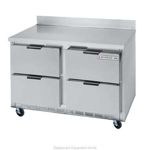 Beverage Air WTRD60A-4 Refrigerated Counter Work Top