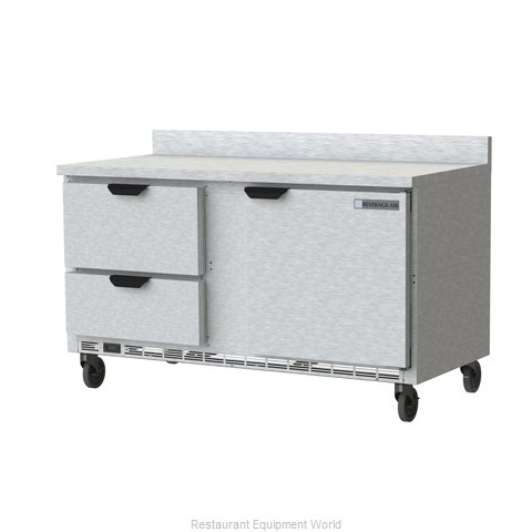 Beverage Air WTRD60AHC-2-FIP Refrigerated Counter, Work Top