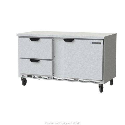 Beverage Air WTRD60AHC-2-FLT Refrigerated Counter, Work Top