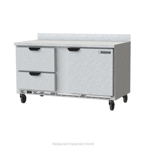 Beverage Air WTRD60AHC-2 Refrigerated Counter, Work Top