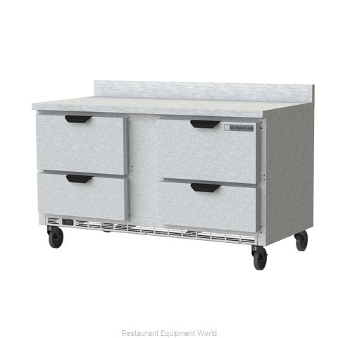 Beverage Air WTRD60AHC-4-FIP Refrigerated Counter, Work Top