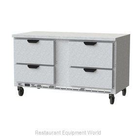 Beverage Air WTRD60AHC-4-FLT Refrigerated Counter, Work Top