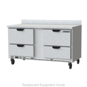 Beverage Air WTRD60AHC-4 Refrigerated Counter, Work Top