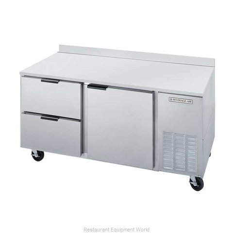 Beverage Air WTRD67A-2 Refrigerated Counter Work Top