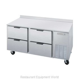 Beverage Air WTRD67A-4 Refrigerated Counter Work Top