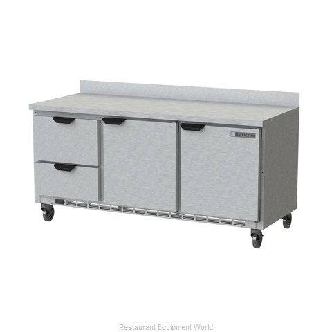 Beverage Air WTRD72AHC-2 Refrigerated Counter, Work Top