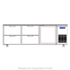 Beverage Air WTRD93A-4 Refrigerated Counter Work Top