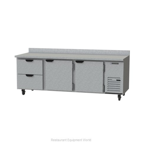 Beverage Air WTRD93AHC-2 Refrigerated Counter, Work Top