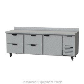 Beverage Air WTRD93AHC-4 Refrigerated Counter, Work Top