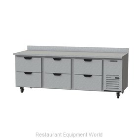 Beverage Air WTRD93AHC-6 Refrigerated Counter, Work Top