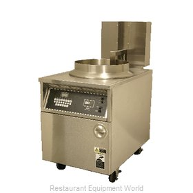 BKI BLG-FC Fryer, Gas, Floor Model, Full Pot