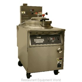 BKI FKG-FC Fryer, Floor Model, Gas, Full Pot