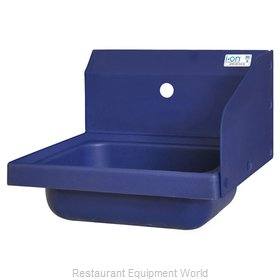 BK Resources APHS-W1410-1RSB Sink, Hand