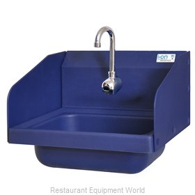 BK Resources APHS-W1410-1SSEFB Sink, Hand