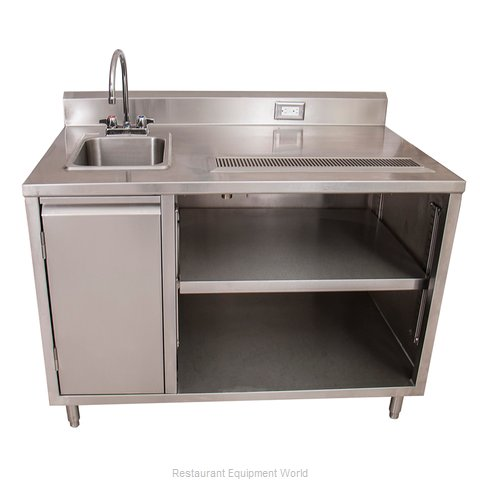 BK Resources BEVT-3060L Beverage Counter