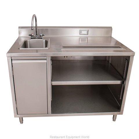 BK Resources BEVT-3072L Beverage Counter