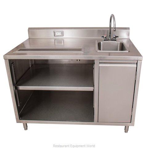 BK Resources BEVT-3072R Beverage Counter