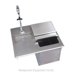 BK Resources BK-DIWSBL-2118G-P-G Ice & Water Unit, Drop-In