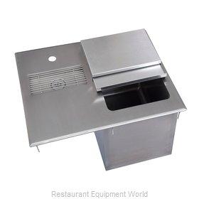 BK Resources BK-DIWSBL-2118G Ice & Water Unit, Drop-In