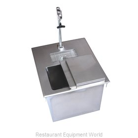 BK Resources BK-DIWSBL-2118X-P-G Ice & Water Unit, Drop-In