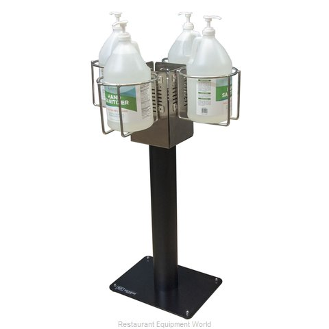 BK Resources BK-SSPC-4G10 Hand Sanitizing Station