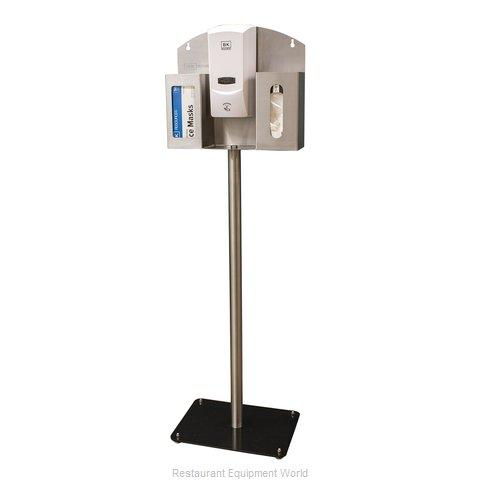 BK Resources BK-SSPC-PPE-D Safety Mask Dispenser