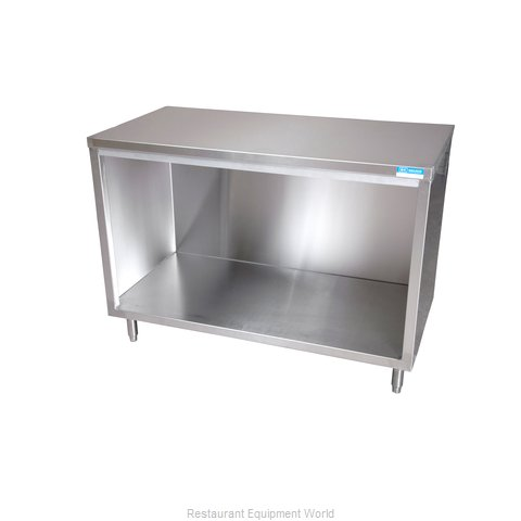 BK Resources BKDC-3672 Work Table, Cabinet Base Open Front