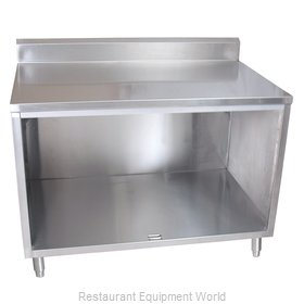 BK Resources BKDCR5-3660 Work Table, Cabinet Base Open Front