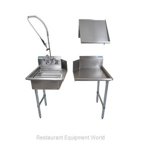 BK Resources BKDTK-48-L-G Dishtable Package