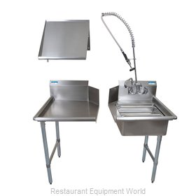 BK Resources BKDTK-48-R-G Dishtable Package