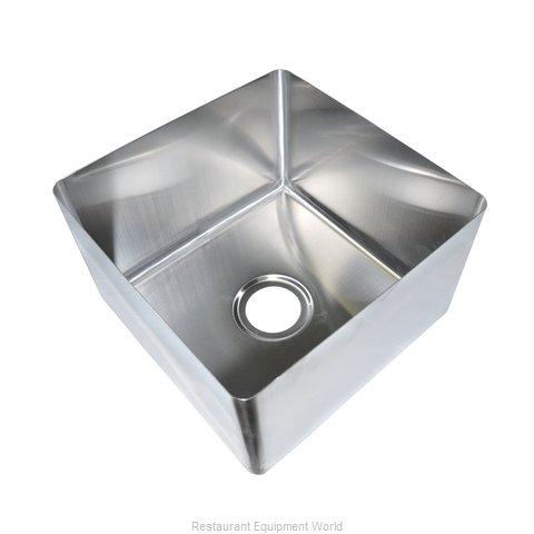 BK Resources BKFB-1616-10-16 Sink Bowl, Weld-In / Undermount