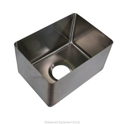 BK Resources BKFB-1618-12-16 Sink Bowl, Weld-In / Undermount