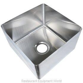 BK Resources BKFB-1824-14-16 Sink Bowl, Weld-In / Undermount