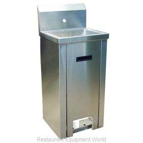 BK Resources BKHS-W-1410-PED-P-G Sink, Hand