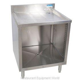 BK Resources BKUBGC-240 Underbar Glass Rack Storage Unit