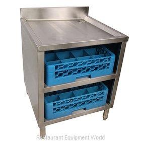 BK Resources BKUBGC-241 Underbar Glass Rack Storage Unit