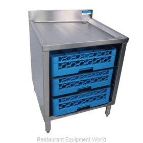 BK Resources BKUBGC-242 Underbar Glass Rack Storage Unit