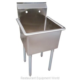 BK Resources BKUS6-1-1821-14 Sink, (1) One Compartment