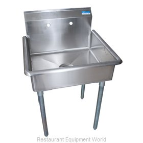 BK Resources BKUS6-1-2421-8 Sink, (1) One Compartment