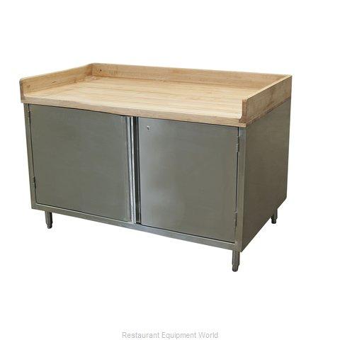 BK Resources CMBT-3048HL Work Table, Wood Top