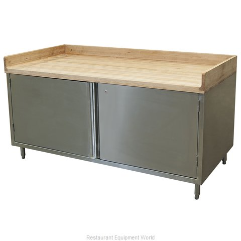 BK Resources CMBT-3072HL Work Table, Wood Top