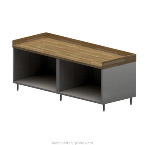 BK Resources CMBT-3096 Work Table, Wood Top