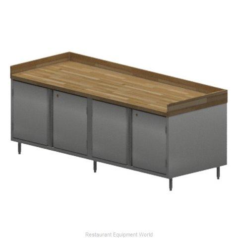 BK Resources CMBT-3096HL Work Table, Wood Top
