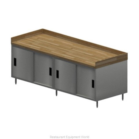 BK Resources CMBT-3096S Work Table, Wood Top