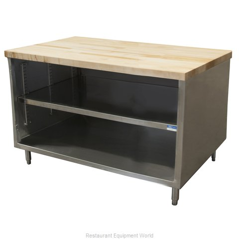BK Resources CMT-3048 Work Table, Wood Top