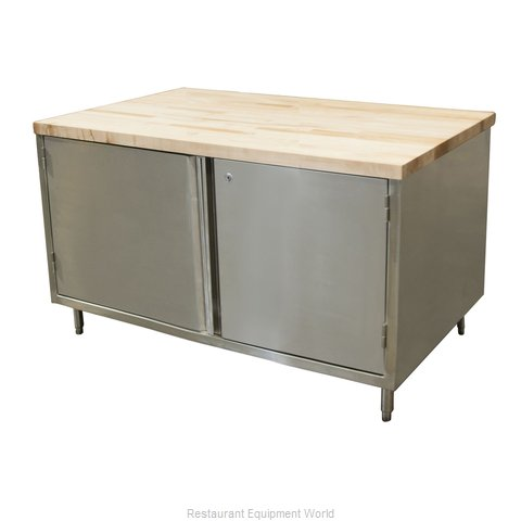 BK Resources CMT-3048HL Work Table, Wood Top