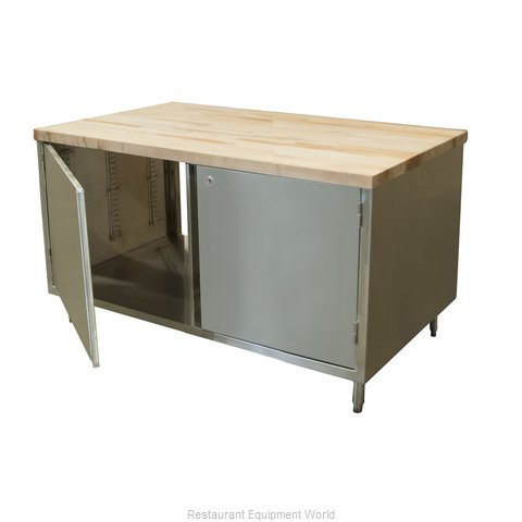 BK Resources CMT-3048HL2 Work Table, Wood Top