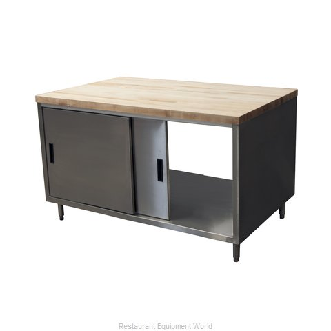 BK Resources CMT-3060S2 Work Table, Wood Top